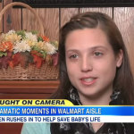 Teen in Missouri saves Baby with CPR in Walmart
